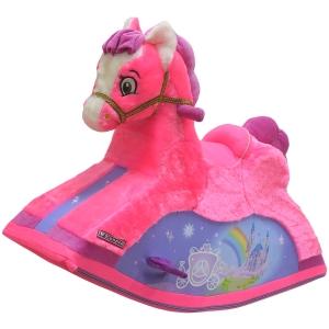 """Качалка-Лошадка """"Звездочка"""", розовая"""
