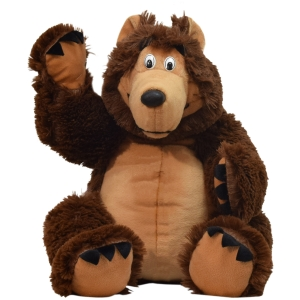 Бурый медведь большой